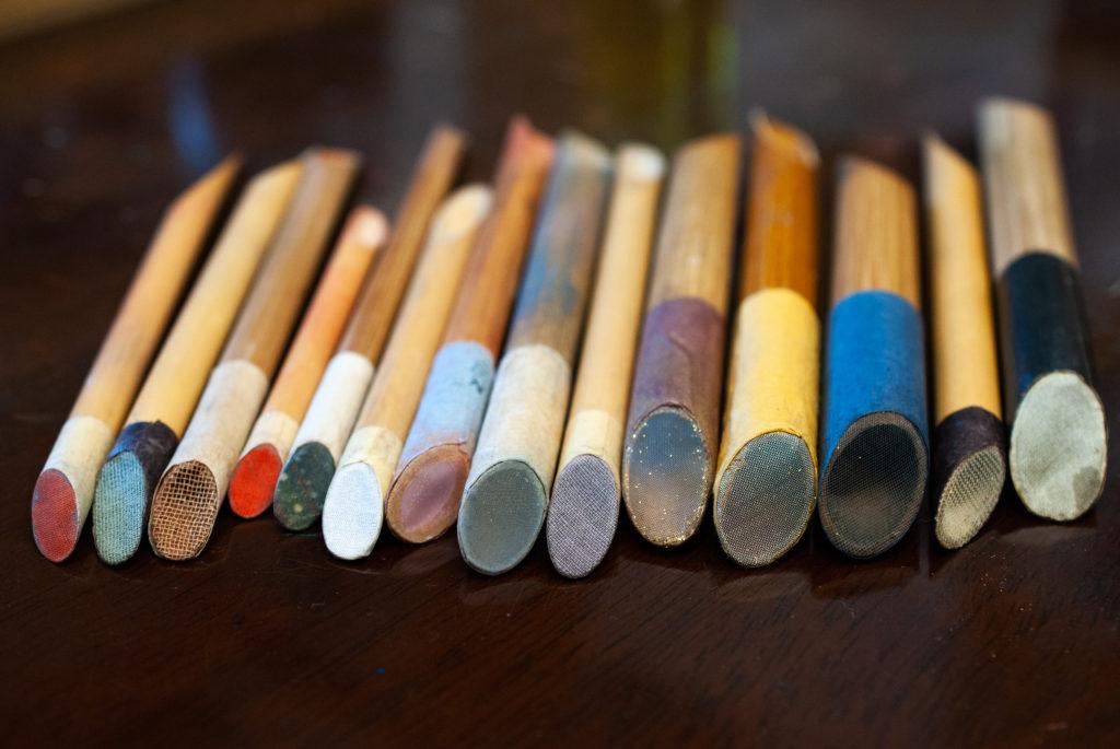 蒔絵万年筆の制作を動画を使ってご紹介します